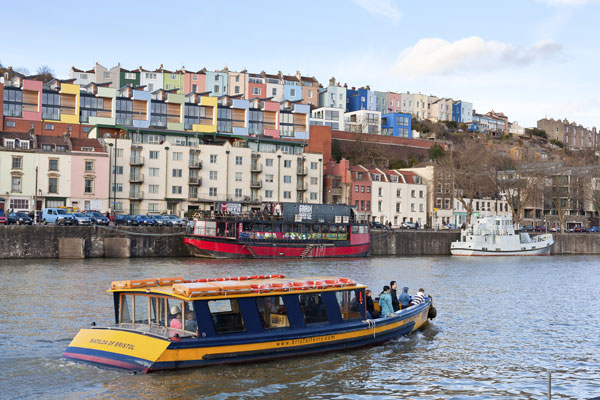 Bristol Ferry in the floating harbour